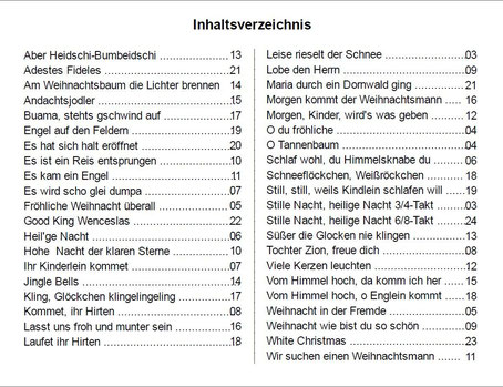 Liedtext Weihnachtslieder.Www Musikverlag Edelmann De Weihnachtslieder Fur